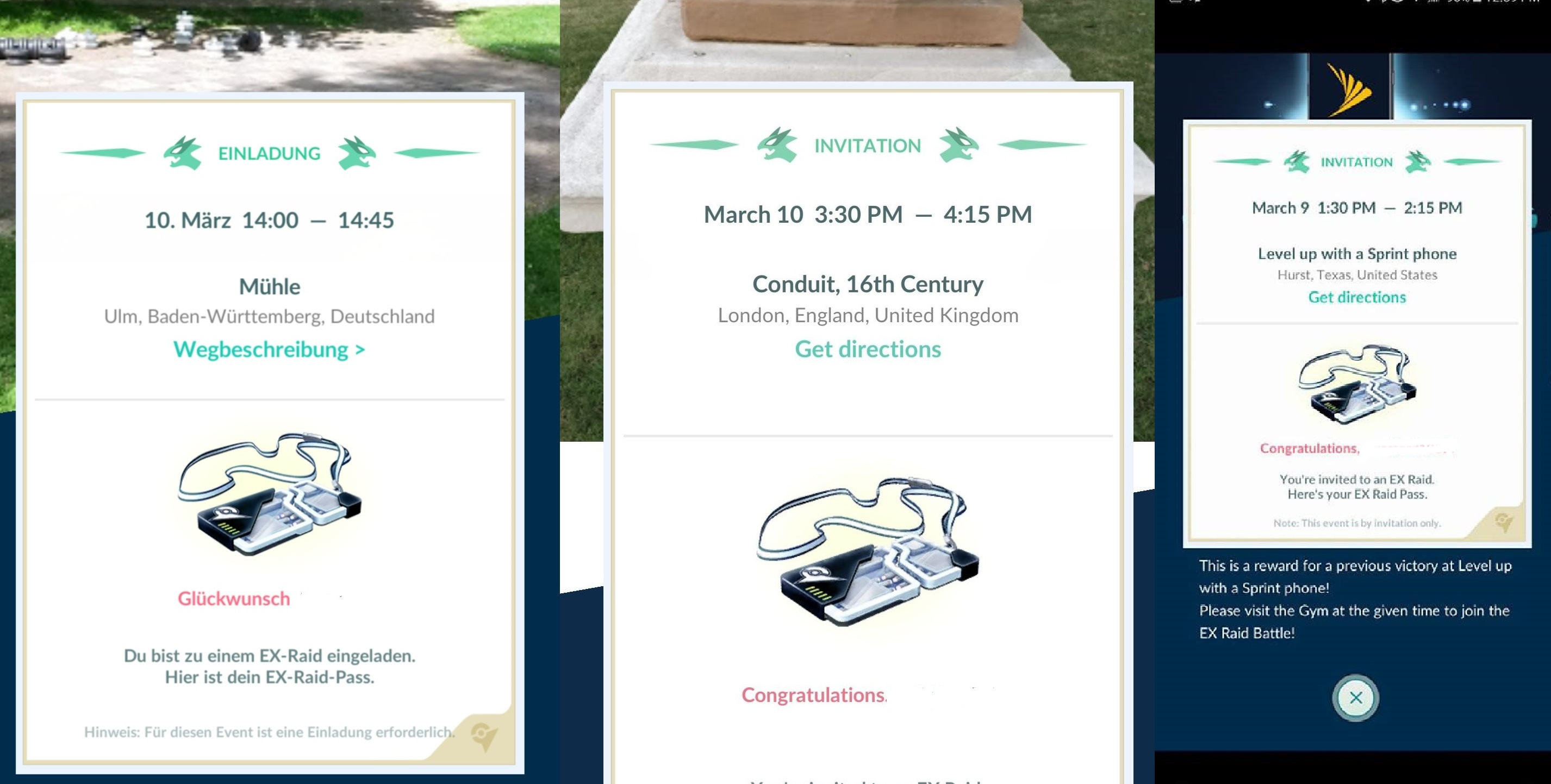 new ex raid march 10