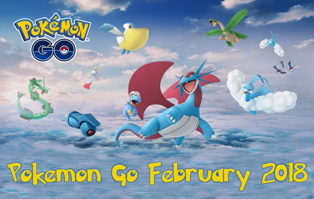 Photo of Here's Everything Coming to Pokemon Go in February 2018