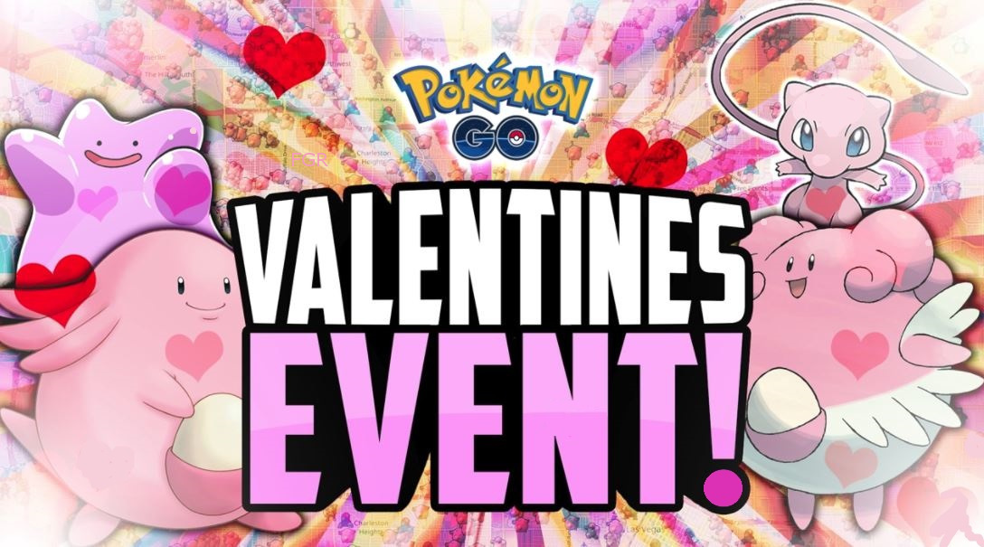 pokemon go valentines event 2018