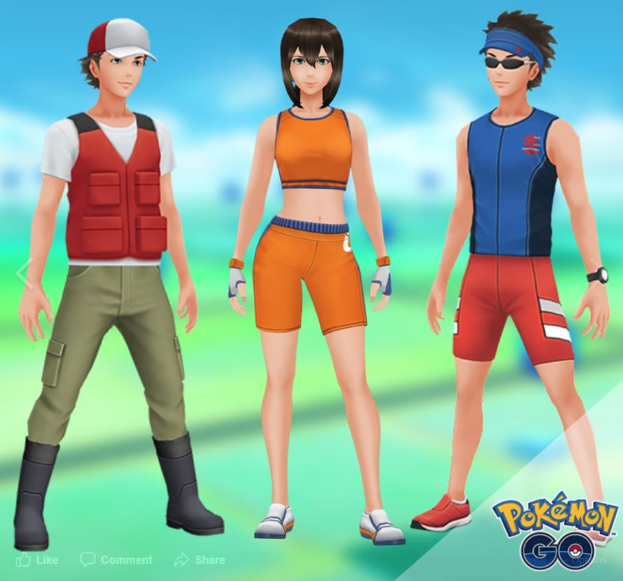Photo of New Styles Fisher, Battlegirl and Jogger Coming to Pokemon Go, Update: They are Now Available Prices Included