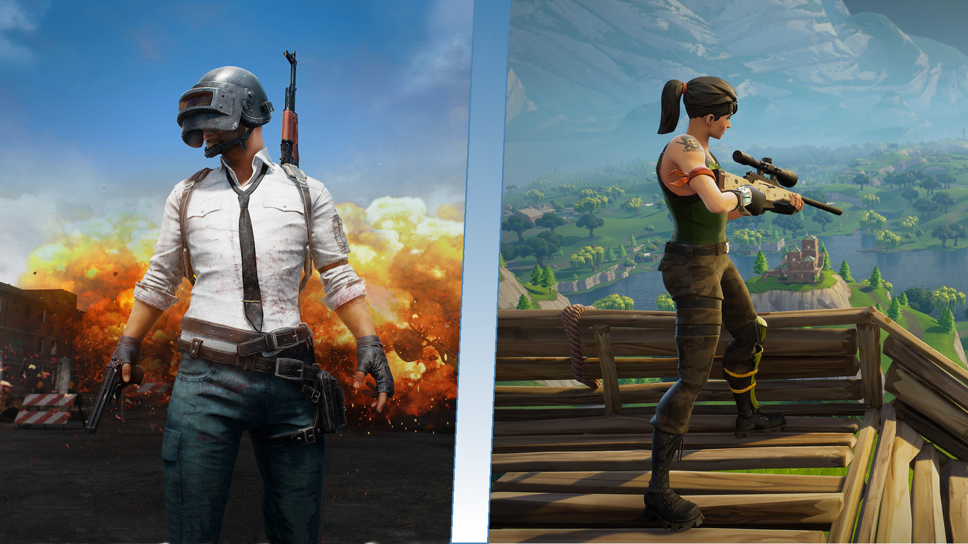Photo of PUBG won the Quick Run, Fortnite took the Mid Run, to whom belongs the long run?