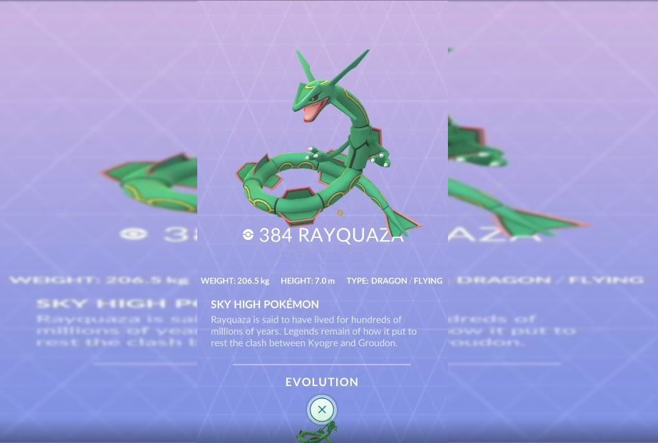 Photo of Two or Three Pokemon Go Players can Beat Rayquaza Using a Golem Army
