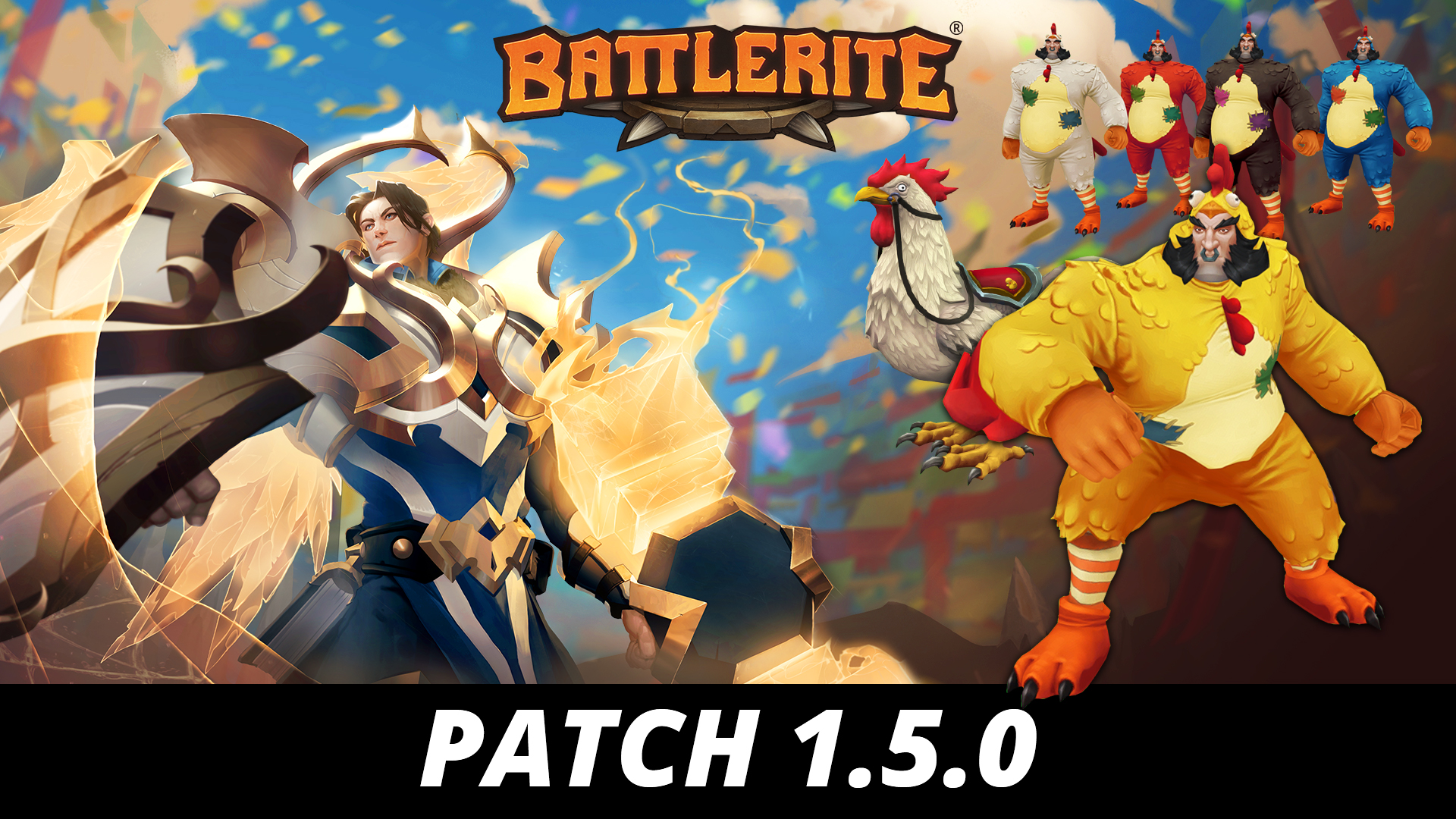 Battlerite Patch 1.5