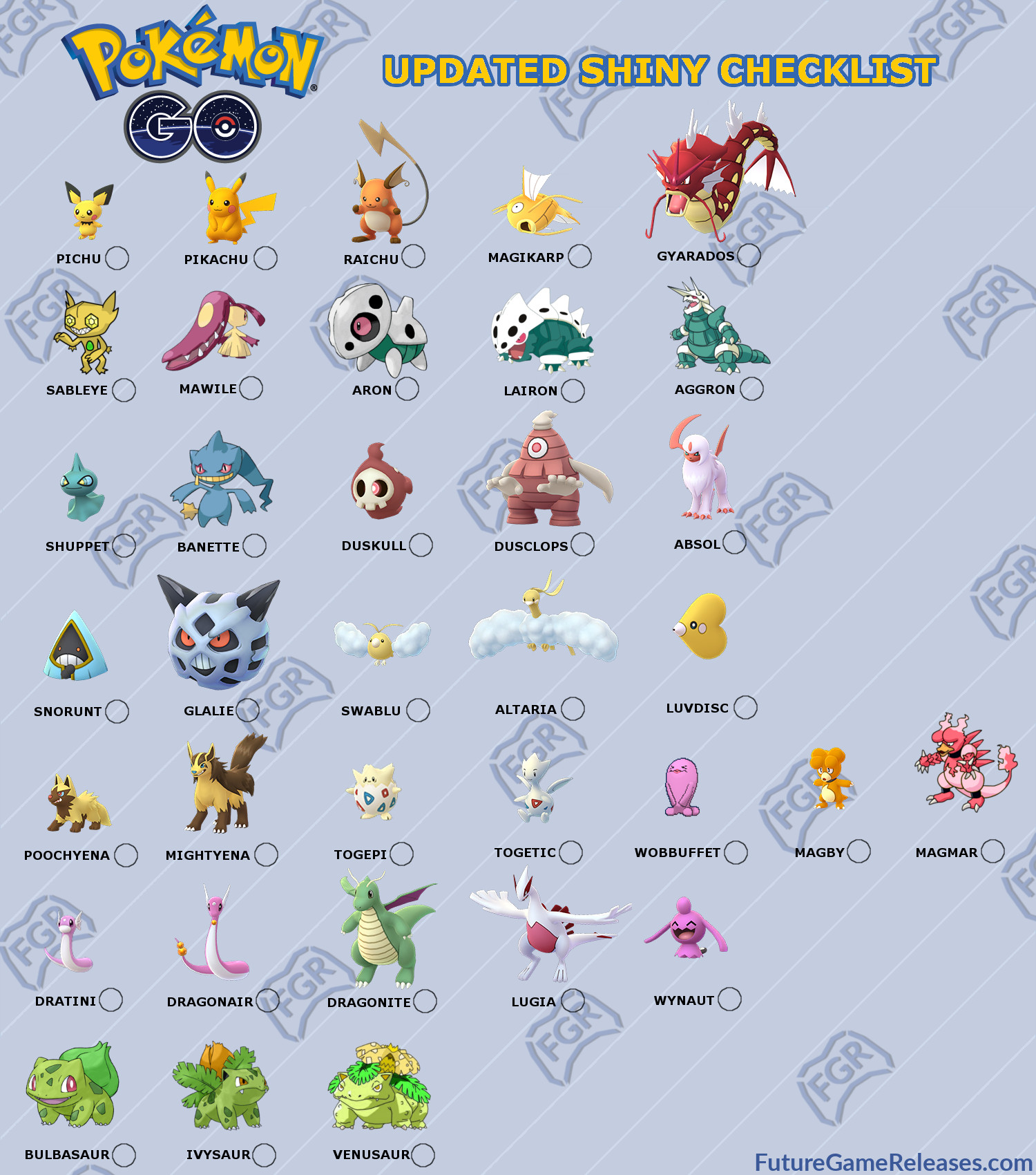 Pokemon shiny pokemon