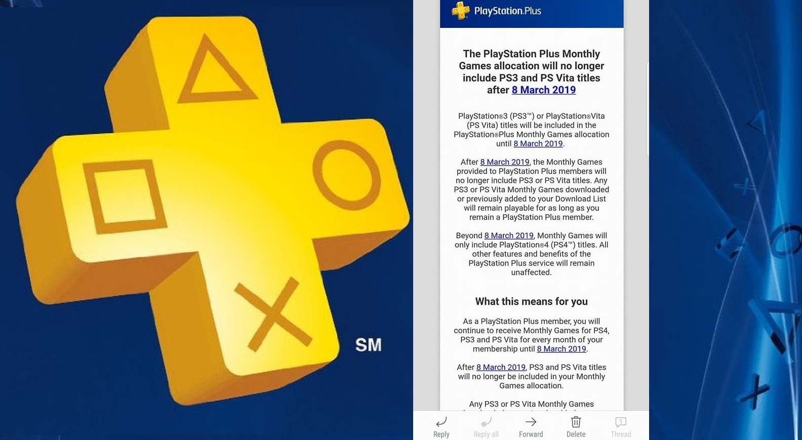 Photo of After February 2019 the Monthly PlayStation Plus Lineups will Consist only of Two Free PS4 games, From March 8, 2019 no More PS3 and PS Vita Games on the Service