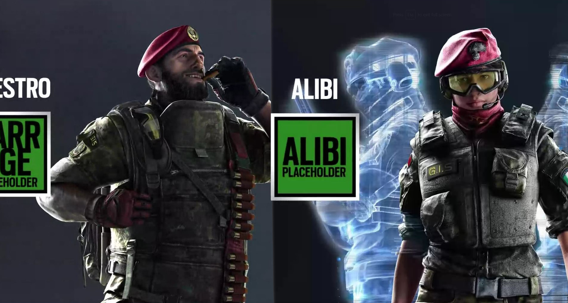 Photo of Rainbow Six Siege Italian Operators Leaked