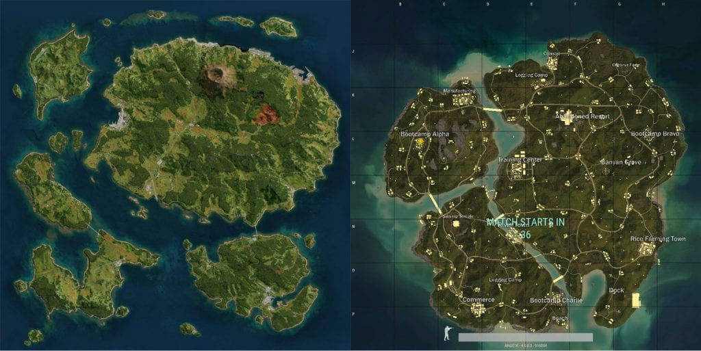 PUBG's new Sanhok Map surely reminds of Arma 3's Tanoa