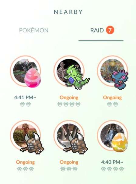 new raid bosses pokemon go