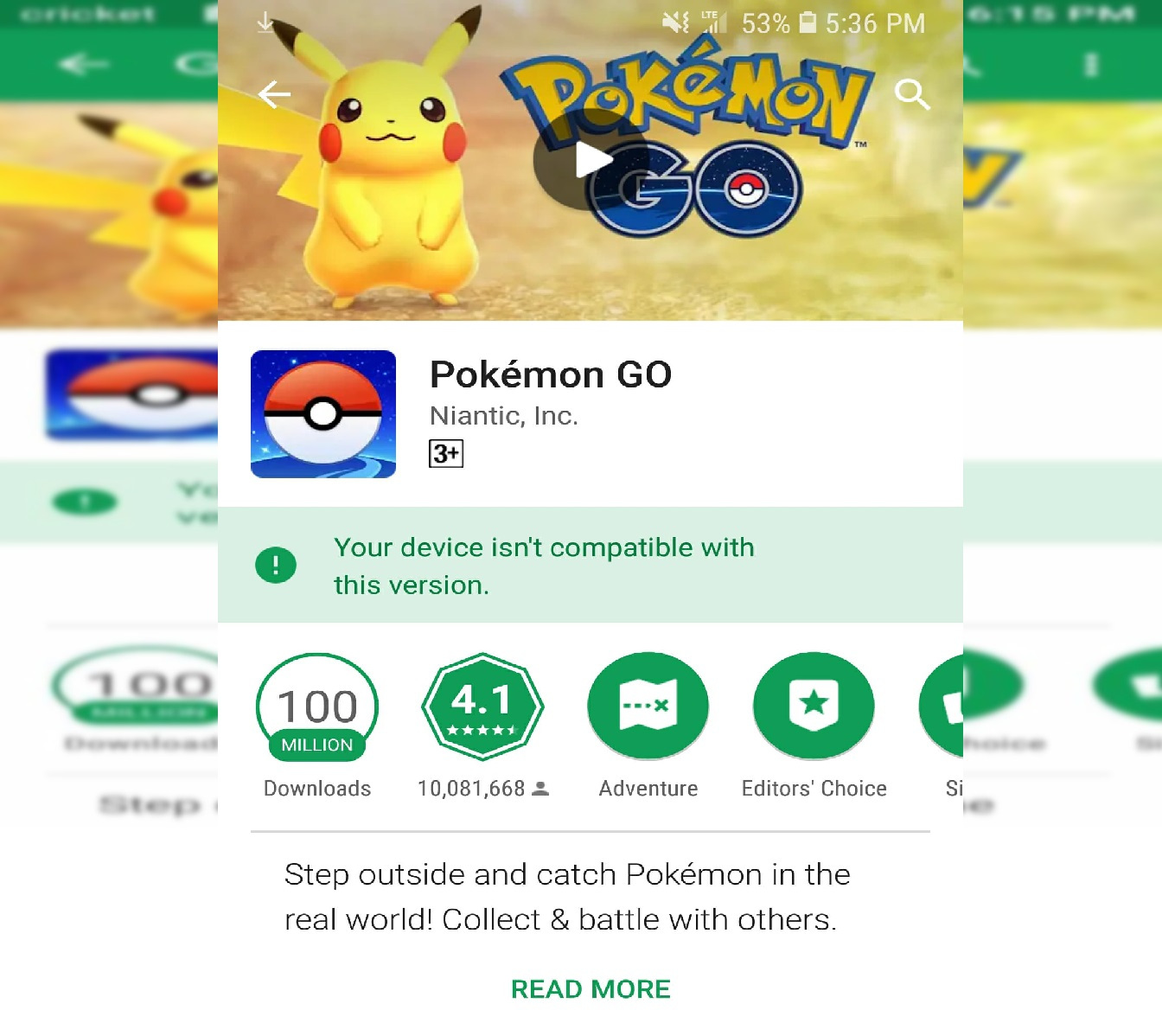 Photo of Pokemon Go Device Isn't Compatible with this Update Note, Here is How to Fix it