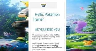 claim promo code trick pokemon go