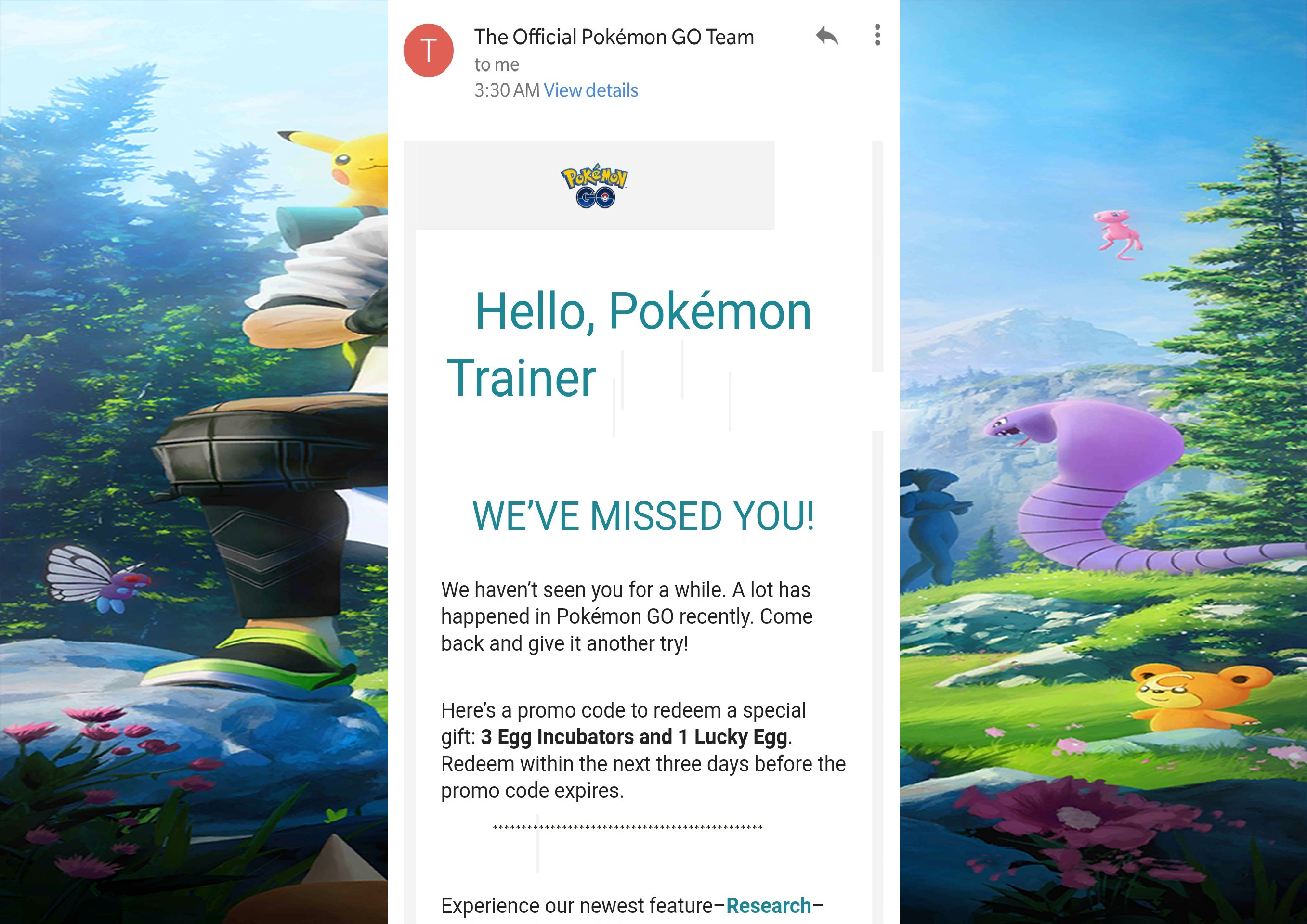 Photo of Claim your Promo Code in Pokemon Go Now and Get Free Items