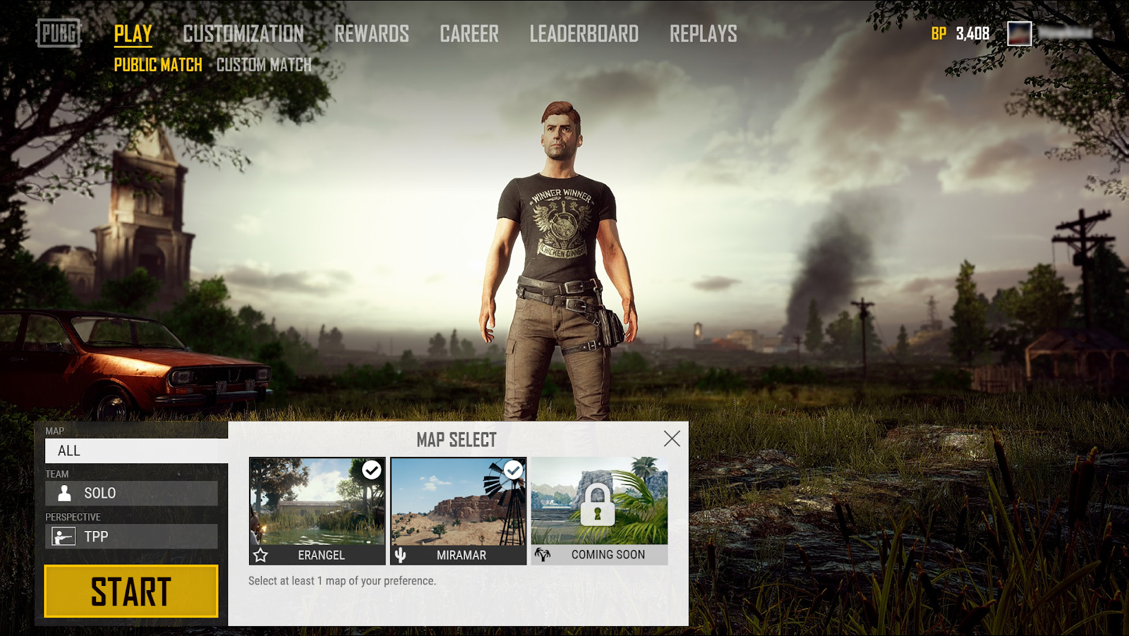 Photo of PUBG will include Map Selection allowing players to skip Miramar or Erangel by the click of a mouse button