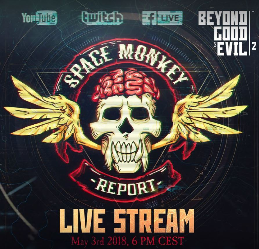 Photo of Beyond Good and Evil 2 New LiveStream Announced, Space Monkey Report #2