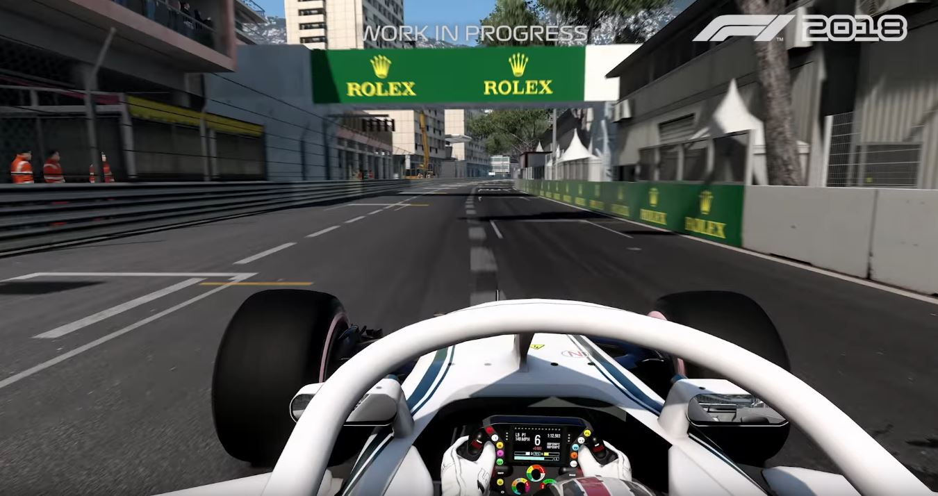Photo of F1 2018 First Gameplay Footage Revealed feat. Charles Leclerc