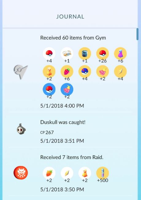 item drop increased pokemon go 60
