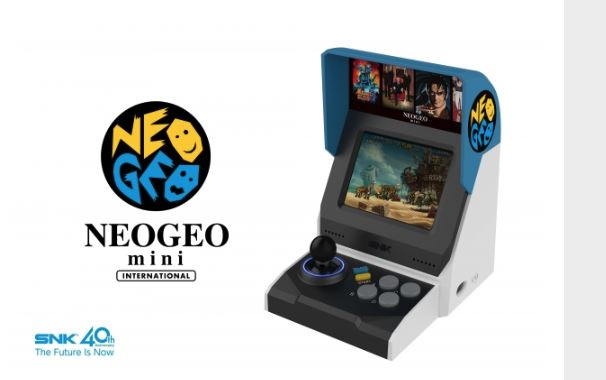 The New Neo Geo Mini Comes Preloaded With 40 Games