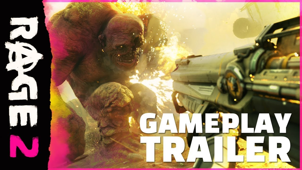Photo of RAGE 2 Gets its First Gameplay Trailer, where Insanity rules the World