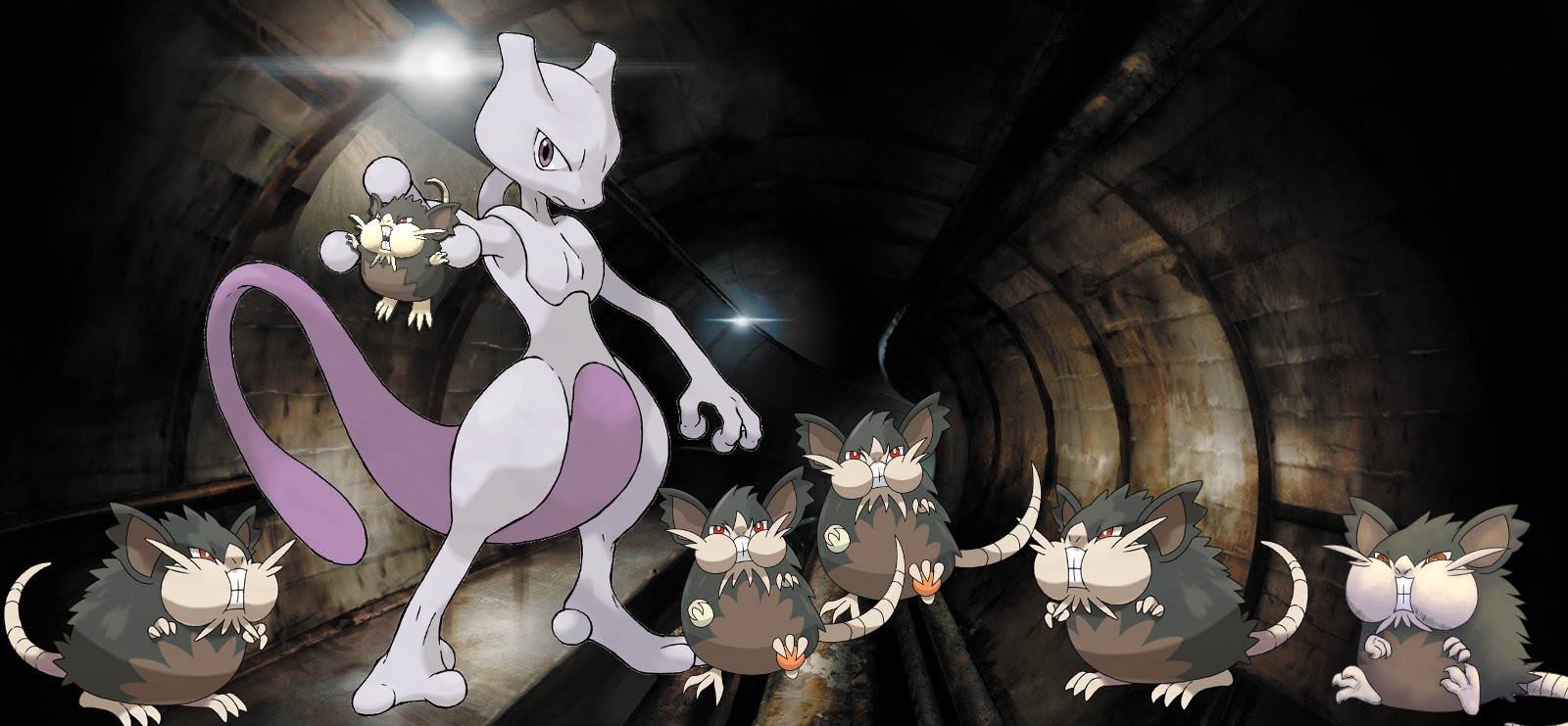 Photo of Pokemon Go Epic Battle Alolan Raticate vs Mewtwo, Finish Him!