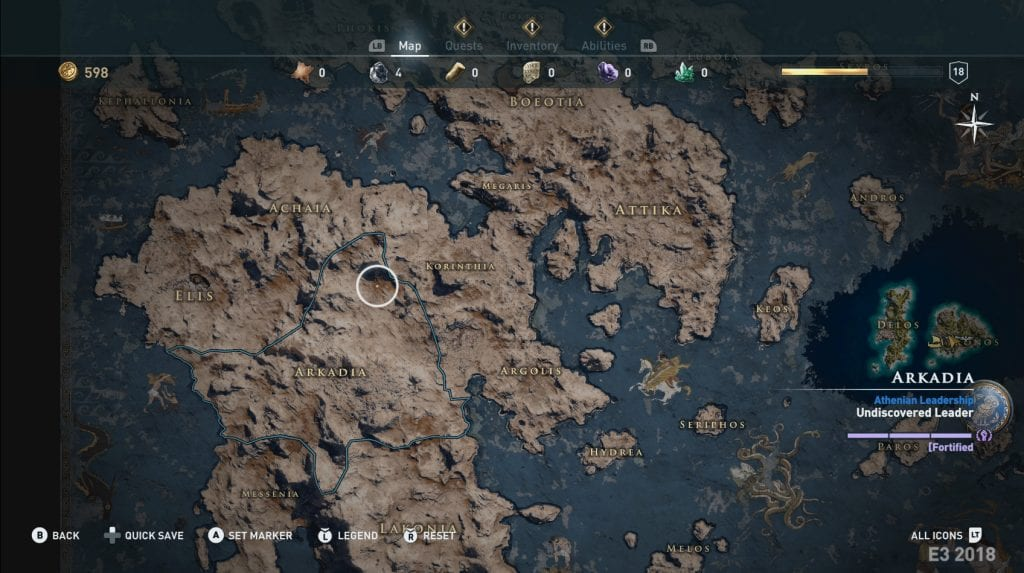 Assassin's Creed Odyssey's Map is Huge Compared to Origins ...