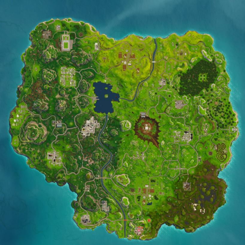 Photo of Week 9 Leaked Fortnite Map Points Out Changes in Tilted Towers and Dusty Divot