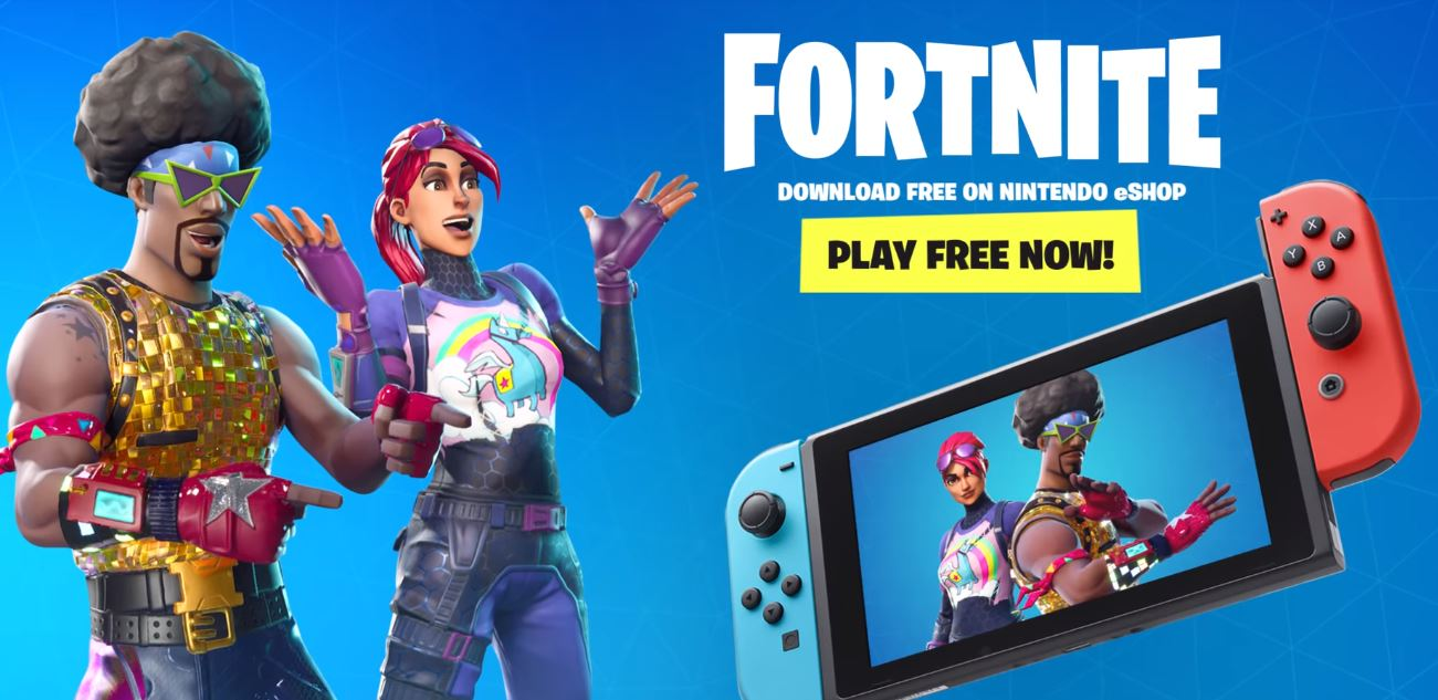 Photo of Fortnite is now available on Nintendo Switch for free
