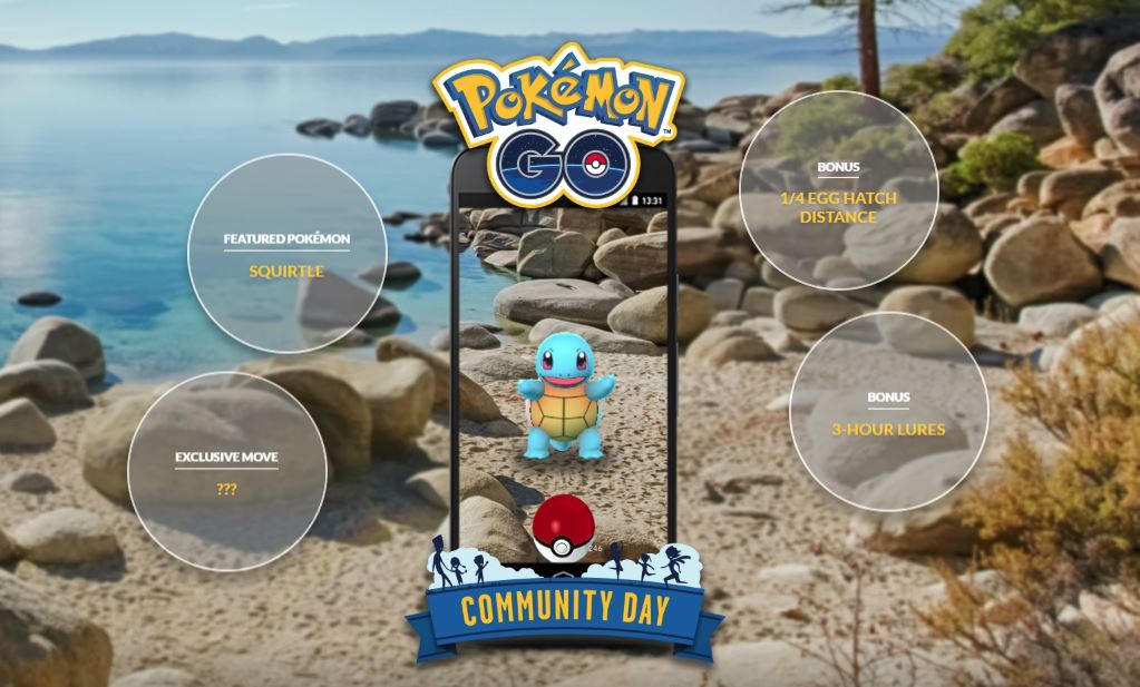 Photo of Pokemon Go July Community Day Confirmed, Squirtle is on its Way