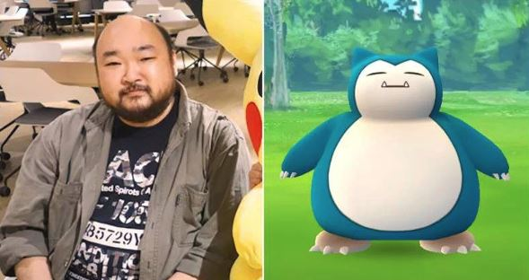 Photo of Snorlax's design based on Real Person Who Works at Game Freak Kōji Nishino