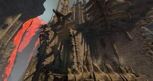 Quake Champions Molten Falls Arena