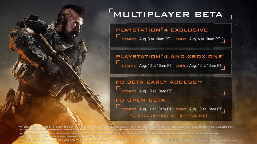 Photo of Call of Duty Black Ops 4 PC Private Beta starts on August 3, Open Beta Eight Days Later