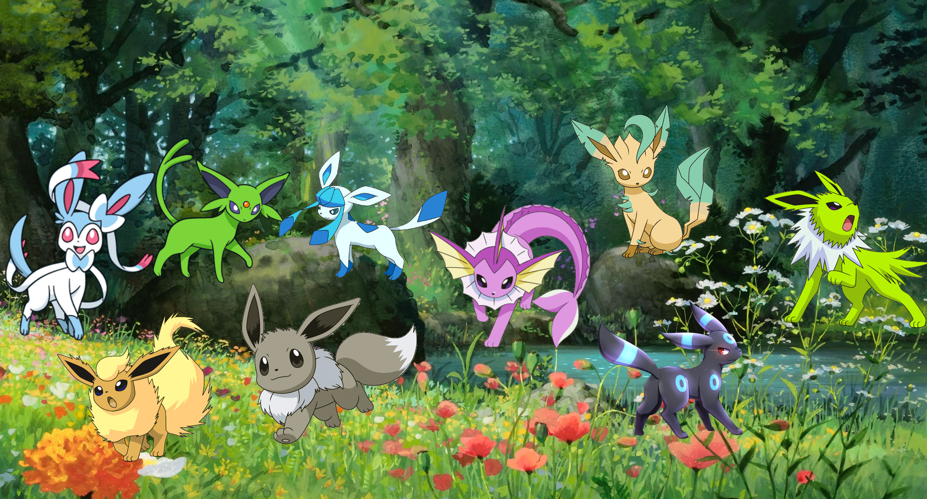 Photo of Shiny Eeveelutions Added to Pokemon Go GM File