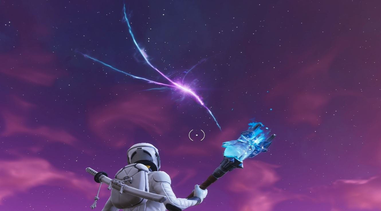 Photo of Fortnite's Rift in the Sky Continues to Shrink, But Also Change colors