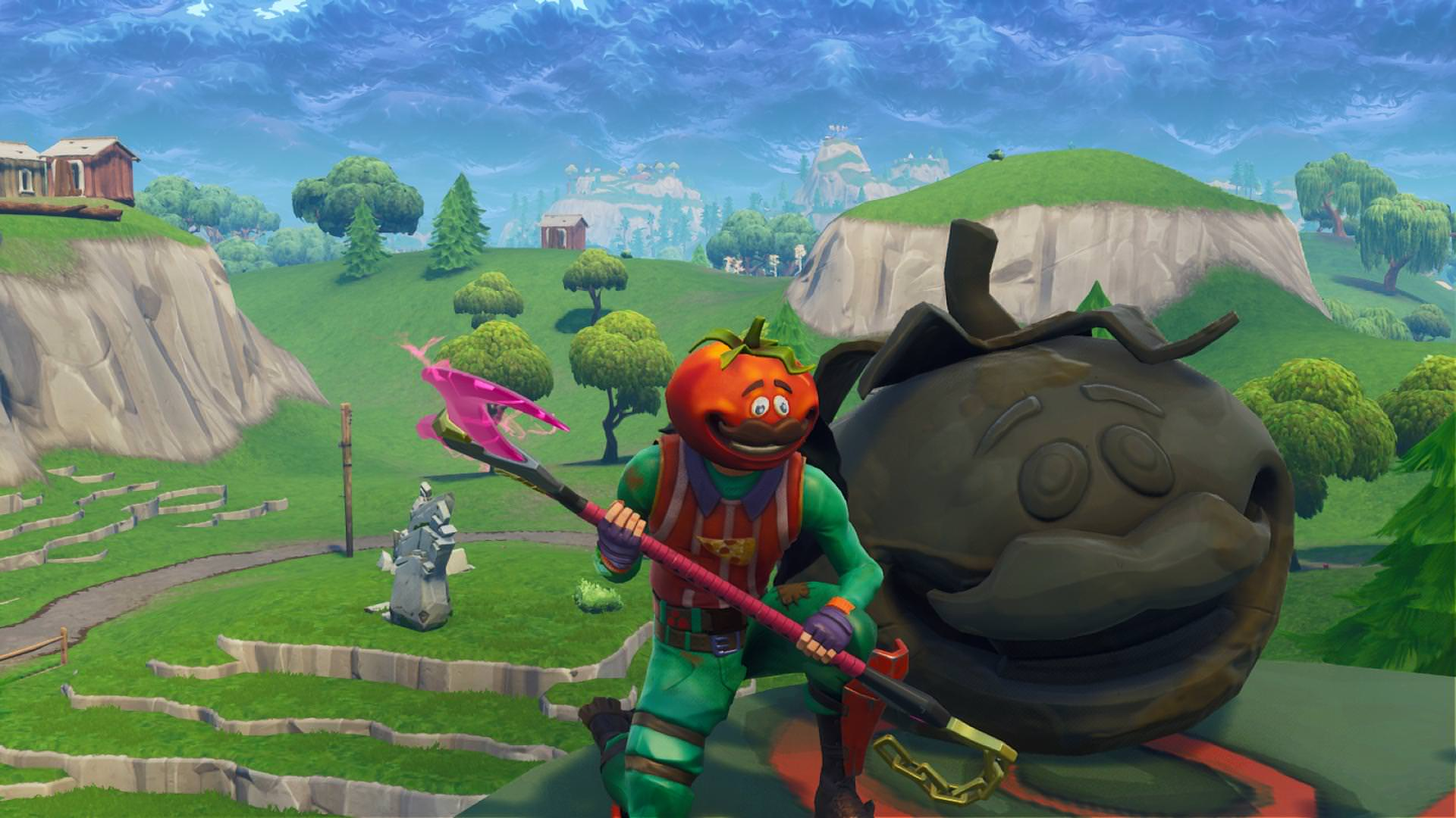 Photo of Fortnite Rifts Continue Working As New Tomatohead Appears on the map