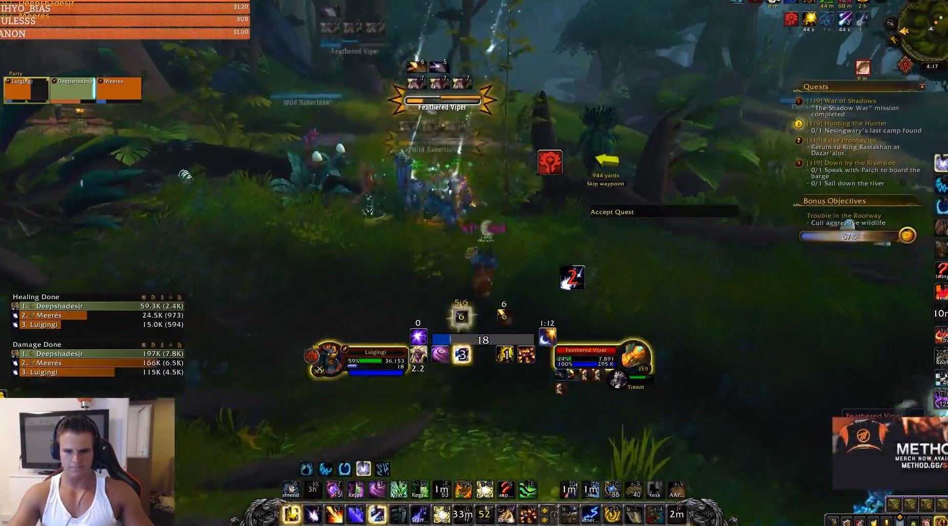 Photo of Battle For Azeroth Level 120 World First Achieved by Gingi