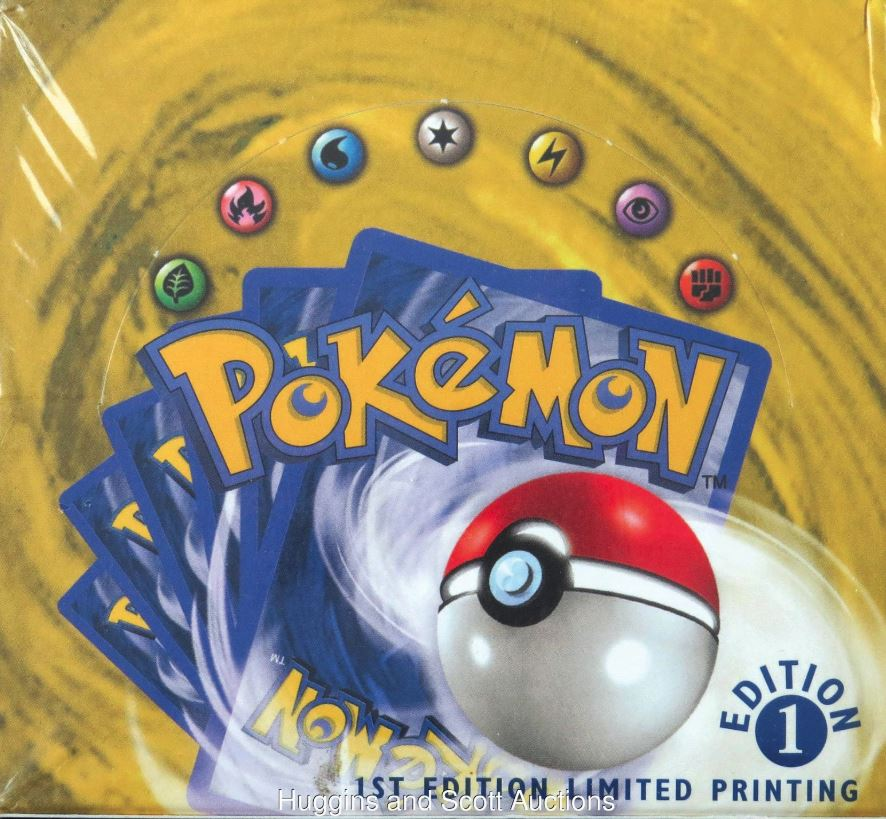 Photo of 20-Year-Old 1st Edition Original Pokemon Booster Pack Sold for $56,000
