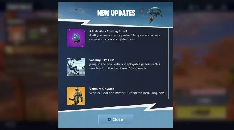Photo of Rift-To-Go Item Coming Soon to Fortnite