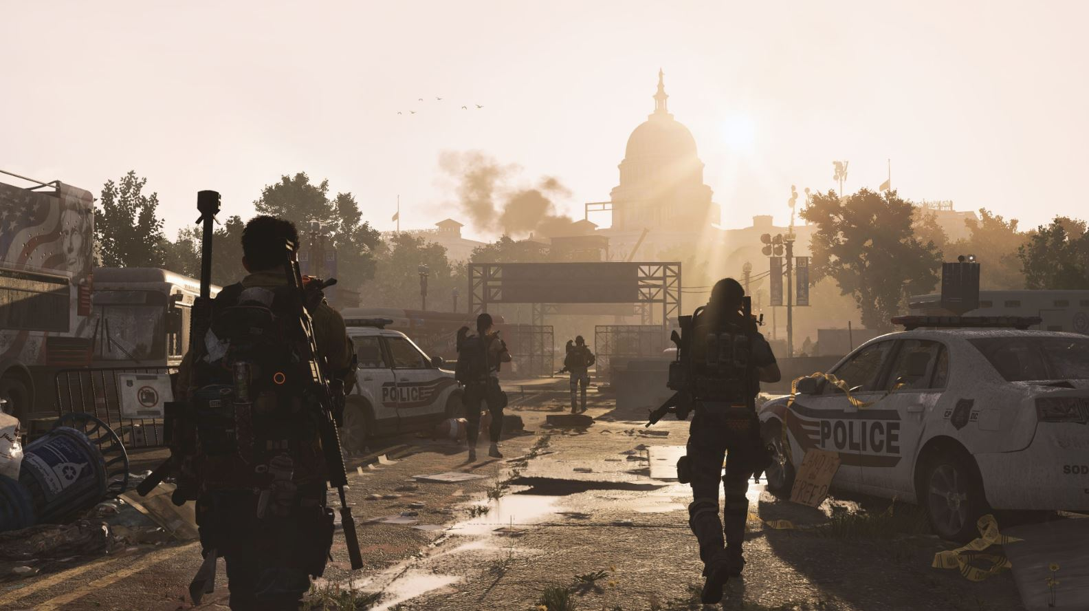 Photo of The Division 2's new trailer showcases the end-game, technical test begins