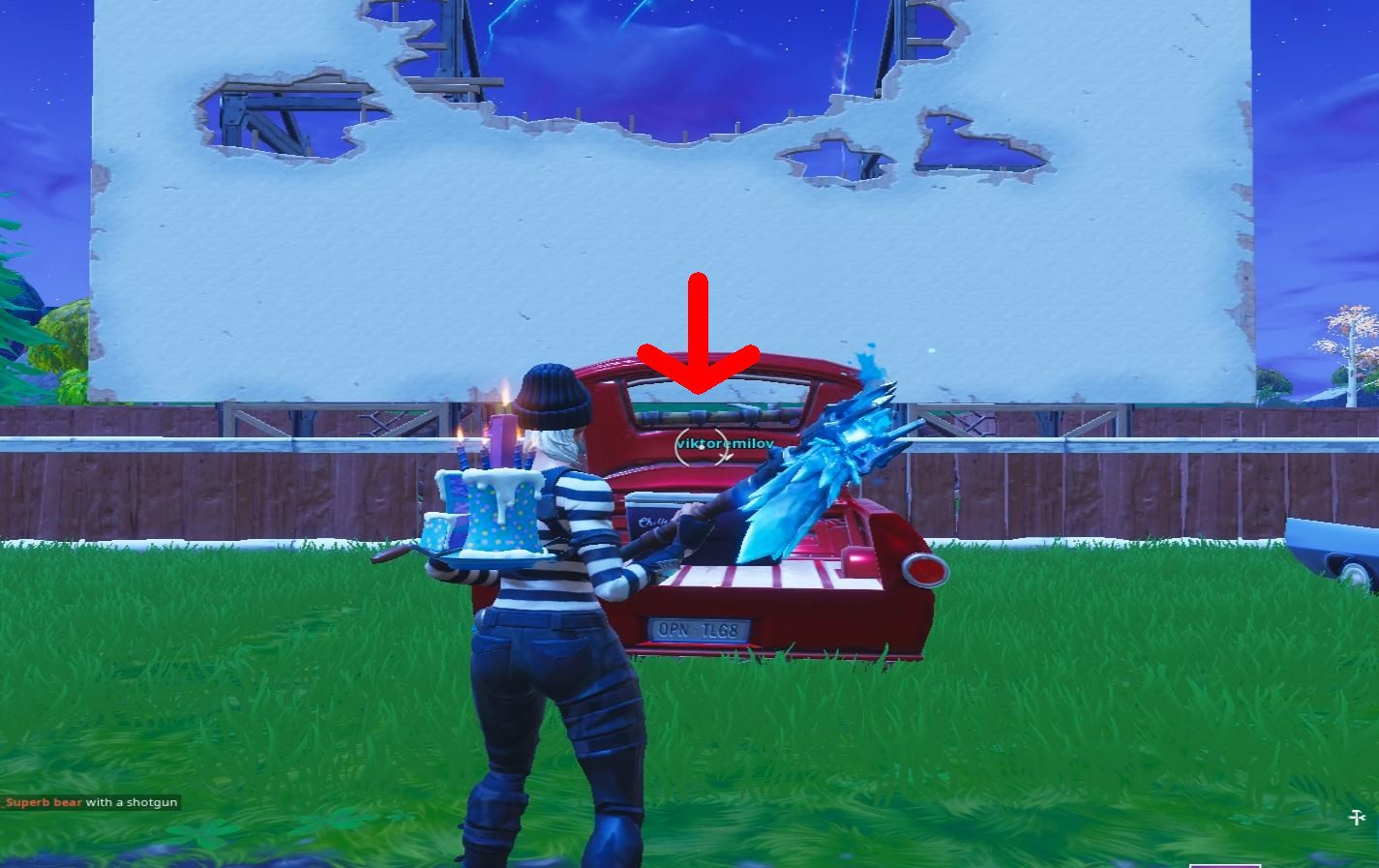 Photo of Road Trip Week 6 Hidden Battle Star Location