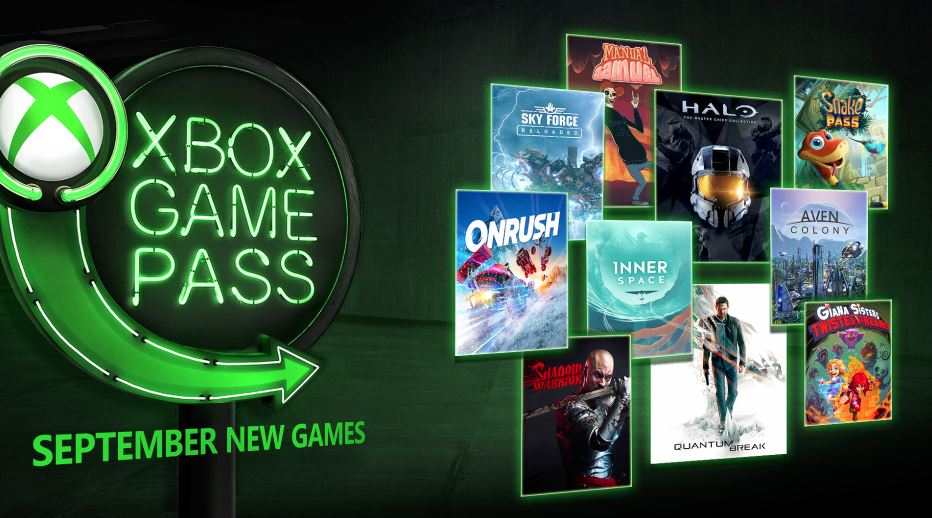 Xbox Game Pass adds 10 titles in September