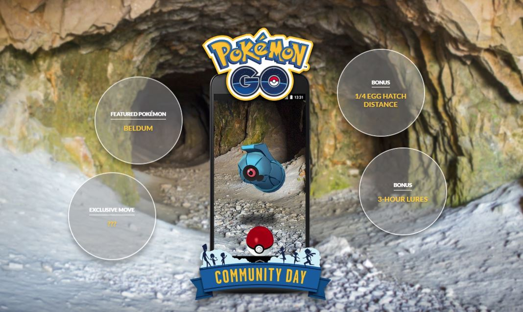 Photo of Pokemon Go Next Community Day Event to Bring Beldum