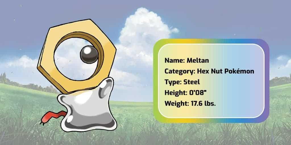 Photo of Pokemon Company Announced Brand New Mythical Pokemon Meltan