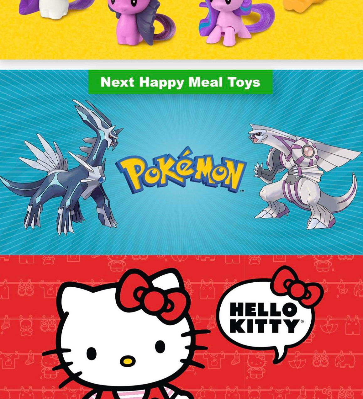pokemon go mcdonald's happy meal toys gen 4