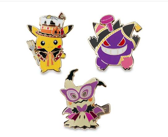 pokemon halloween 2018 collection new items