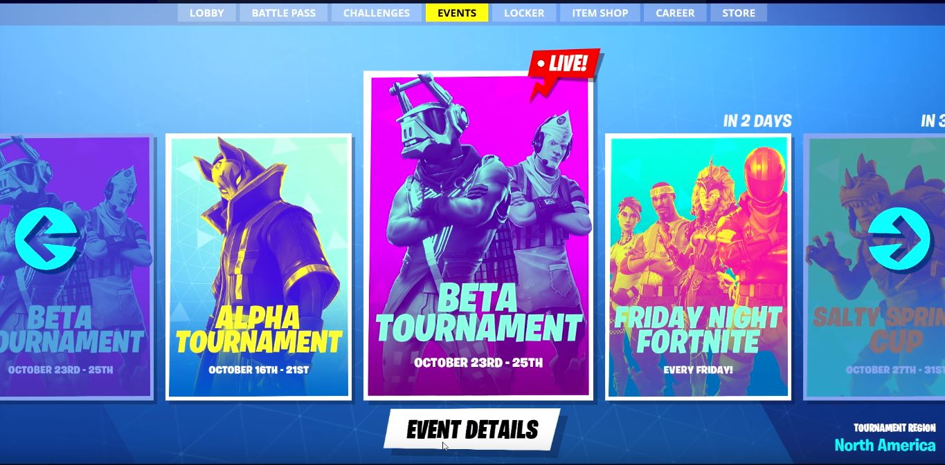 Photo of New Competitive Scene Available to Everyone playing Fortnite