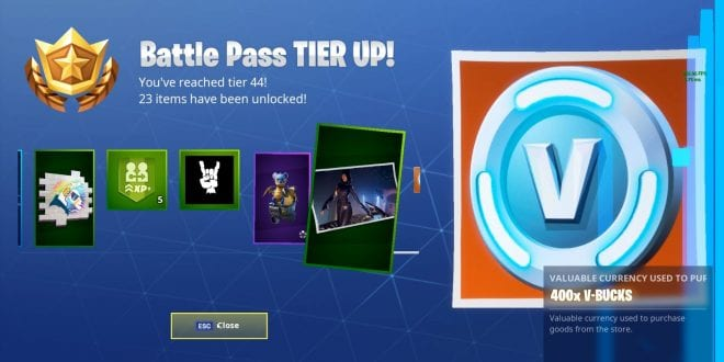 Epic Games Gave Up All Players Will Keep Their Earned Battle Pass Tiers