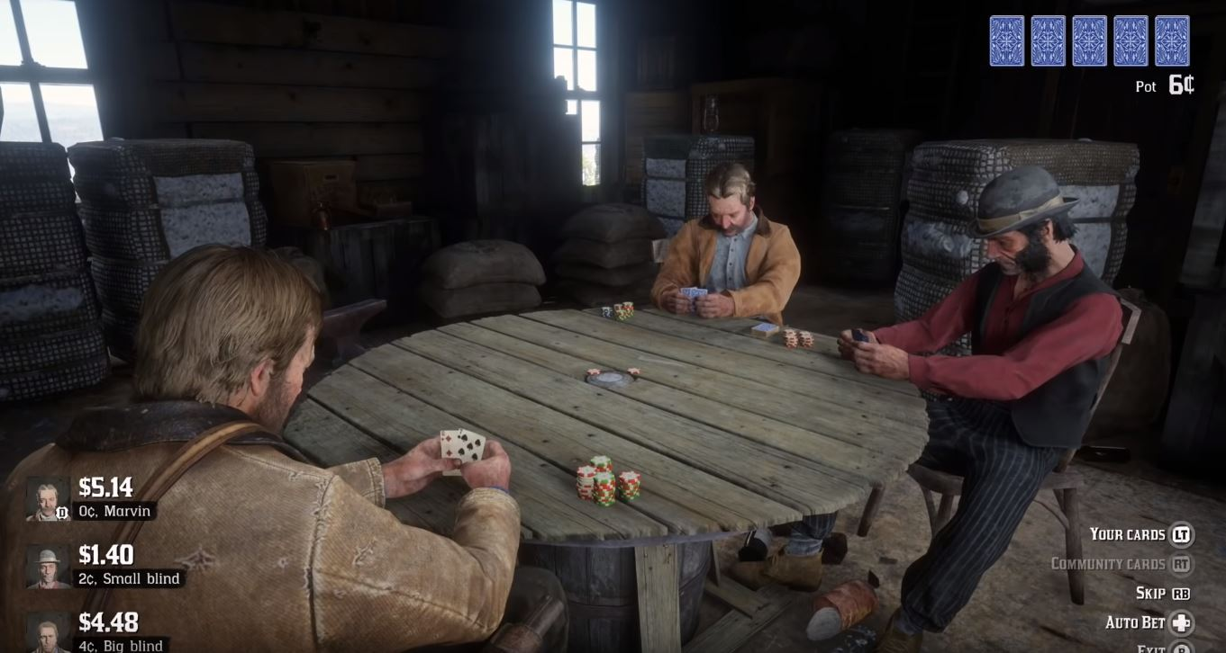 Photo of Playing Poker in Red Dead Redemption 2 can go Both Ways