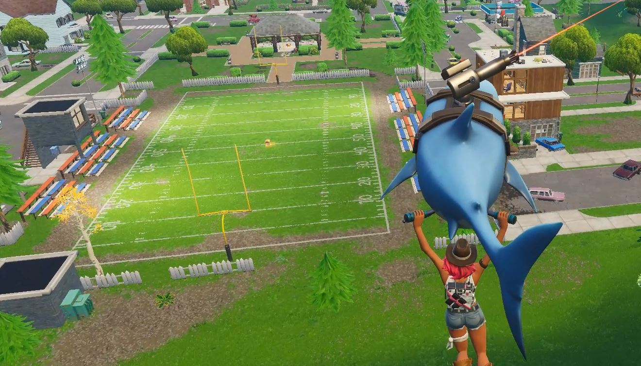 Photo of Fortnite: Pleasant Park gets a brand New Football Field