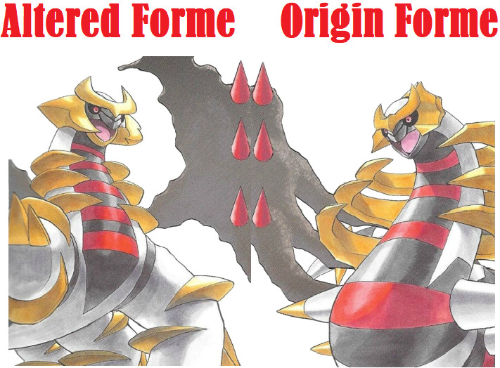 pokemon go giratina altered origin forme