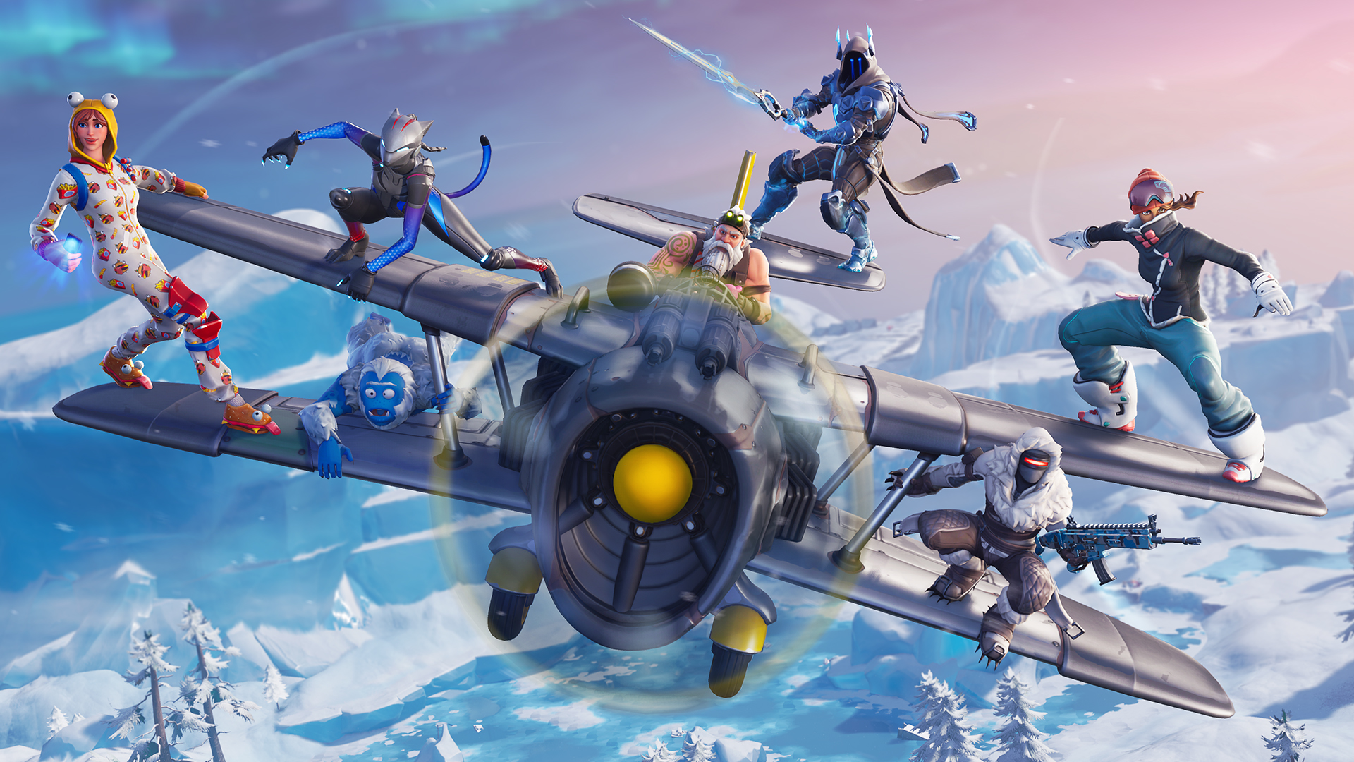 Photo of Festive and Frost, Fortnite Season 7 is live