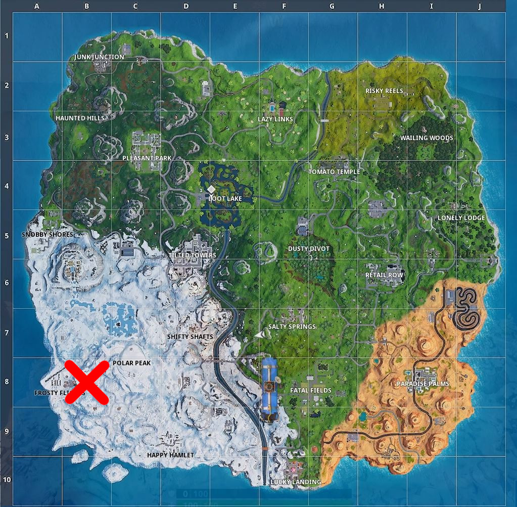 Photo of Fortnite Season 7 Week 1 Hidden Battlestar