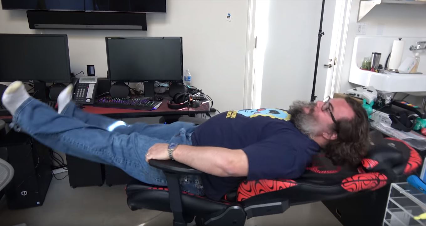 Photo of Jack Black starting his own YouTube Gaming Channel, Jablinski Games